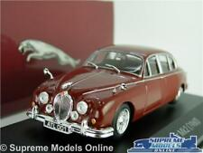 JAGUAR MK2 MODEL CAR 1:43 SCALE RED 1960 ATLAS IXO CLASSIC SALOON PROMO K8