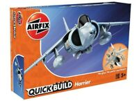 AIRFIX® QUICK-BUILD HARRIER MODEL AIRCRAFT KIT RAF FIGHTER JET PLANE KIT J6009