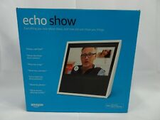 Amazon Echo Show White Alexa BRAND NEW - EJ