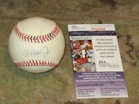 Cal Ripken Jr Autographed Baseball JSA Certified