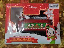 Goofy's Coal Car train set accessory for Mickey Holiday Express 36-piece set NEW