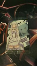 Re: Zero Starting Life In Another World Wafer Card 02 Emilia