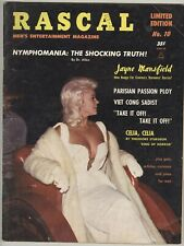 Rascal #10 Limited Edition November 1964 VG Jayne Mansfield