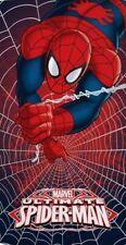 Telo mare spugna di cotone 100% Caleffi Spider-Man Marvel  mare piscina 300gr