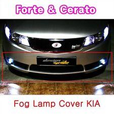 (Fits: KIA 08-11 Cerato Forte 4 Door ) Fog light cover conversion kit Black