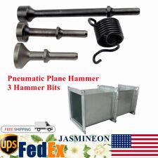 Smoothing Pneumatic Air Hammer Chisel Bits Impact Spring Flat Head 3 Hammer Bits