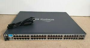 HP ProCurve 2910al-48G • J9147A • 48-Port SFP Gigabit Managed Switch