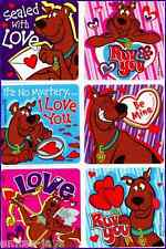 Scooby Doo Stickers x 6 - Love Scooby Doo -Valentine's or Christmas! Collectors