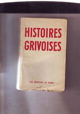 histoires grivoises - les editions de paris