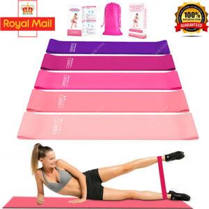Resistance Band Set for Women Pilates Equipment Fitness Heavy Duty Latex Yoga KJ