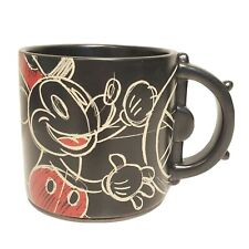 New listing Hallmark Disney Mickey Steamboat Willie Out of Bed and Full Steam Ahead Mug 3.7'