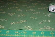 TINY TOTS by RED ROOSTER * 18182 - green  * NEW QUILT COTTON * BY THE YARD
