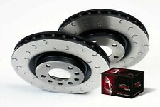 Focus ST 225 Front Performance Brake Discs and Pads C Hook Grooved Mintex M1155