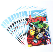 Avengers Hulk Iron Man Thor Bambini Happy Birthday Party Borse Bottino Borsa