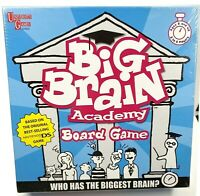University Games Big Brain Academy Board Game 2-6  Players ages 8+ NEW Sealed