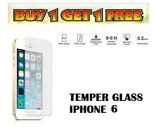 For Apple IPhone 6s & 6 - 100% Genuine Tempered Glass Screen Protector Film