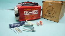 Honda Metal Outboard Motor Gas Tank Boat HONDA w/ tools NEW NOS  75 7 1/2 HP
