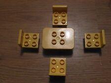 LEGO Duplo - 4 chaises et 1 table en jaune-GMT61
