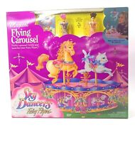 Vintage Galoob Sky Dancers Fairy Flyers Magical Flying Carousel