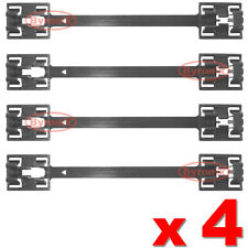 VAUXHALL ASTRA G SIDE SKIRT SILL PANEL MOULDING CLIPS CLAMP STRIPS MK4 OPEL x 4