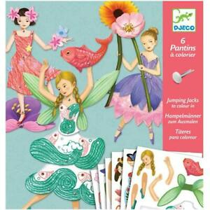Djeco Fairies Paper Puppets