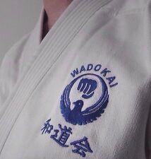 Karate Uniform 185cm Gi Wadokai New White Martial Arts Training Kimono Suit