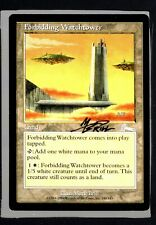 forbidding watertower Mark Brill Autograph Signed Mtg HTC 289
