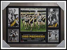 Richmond 1980 PREMIERS Official AFL Memorabilia Super Frame Kevin Bartlett