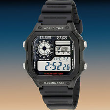 Casio Youth Digital AE-1200WH-1AV Wristwatch