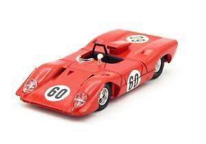 Dinky Toys, Very Beautiful Ferrari 312P Prototype, Years 1969, N° 1432