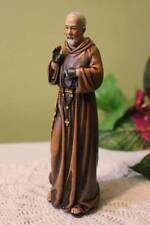 St. Padre Pio Statue 6 inch Resin Figurine Patron Stigmatist Patron Confessors
