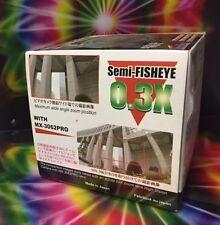 Raynox MX-3062PRO MX-3062 0.3X Semi-Fisheye Lens 62mm : 62-43 62-52 62-55 58 67