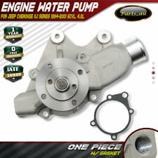Water Pump for Jeep Cherokee XJ Series 94-01 6Cyl. 4.0L with Gasket 4626215AE