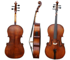 Yinfente 5 string Cello 4/4 Electric Acoustic Cello Maple Spruce Wood Hand Made