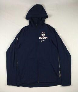 UConn Huskies Nike Jacket Men's Navy Rayon Dri-Fit Used Multiple Sizes