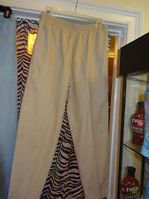 "SEASON TICKET ""Tan Pants"" Elastic Waist w/ 2 Front Pockets Size 14 Short"