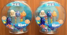 Disney Pixar Finding Dory W/ A Real Fish Bowl W/ Pez Candies & 3 Dispensers