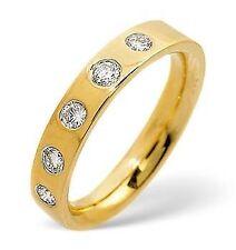 Unbranded Eternity Fine Rings