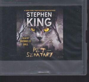 PET SEMATARY by  STEPHEN KING ~UNABRIDGED CD AUDIOBOOK