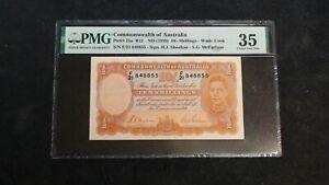 1939 COMMONWEALTH OF AUSTRALIA PMG VF35 TEN SHILLINGS NOTE 10S Bill BUY IT NOW!
