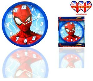Spiderman  Wall Clock, Children's Wall Clock, Officially Licensed,