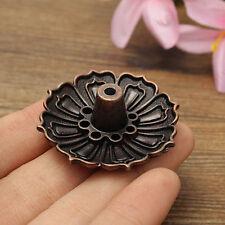 1pc 9Holes Lotus Flower Shape Incense Burner Holder Censer Plate For Stick Cone