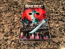 Friday The 13th Part VIII 8 Jason Takes Manhattan New Sealed VHS! The Warriors
