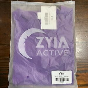 Zyia Active Chill Long T-RC Top Purple Medium