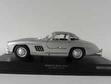 Mercedes-Benz 300 Sl 1955 Plata 1/18 Minichamps 110037210 Pma W198 Mercedes