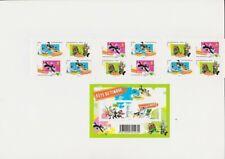 Fête du timbre 2009 carnet et bloc Looney Tunes