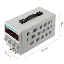 Adjustable DC Power Supply 30V 10A Variable Precision Digital Lab PSU Clip Cable