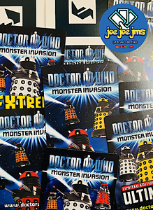 20x Random Dr Doctor Who Monster Invasion Card Lot Extreme Ultimate Super Rare