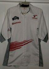 Toyota mechanics garage formula 1 shirt size XL Button Down Autoyota racing