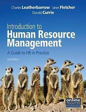 Introduction to Human Resource Management: A Guide to HR in Practice (ID:821)